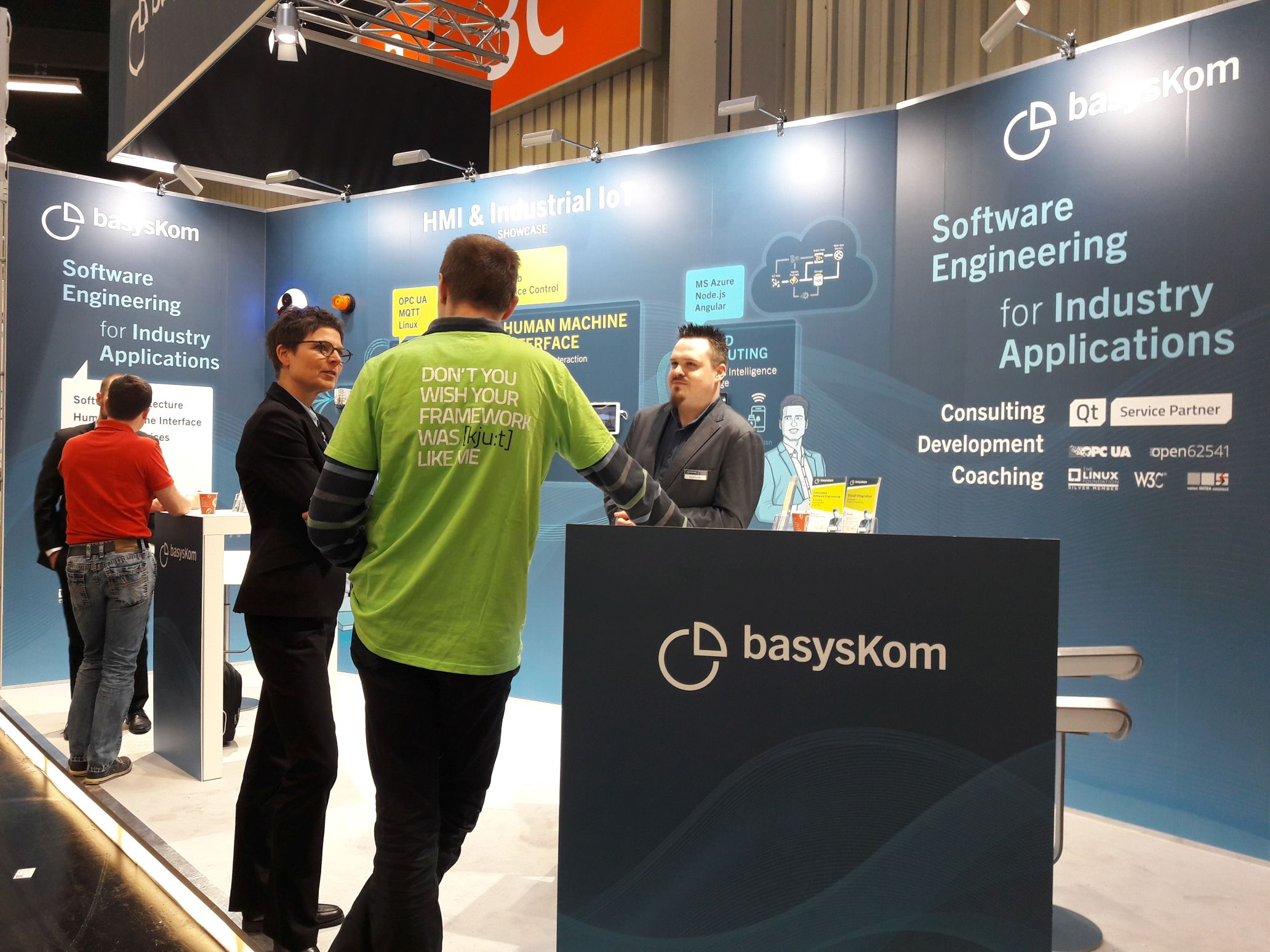Review: basysKom at Embedded World 2019 1