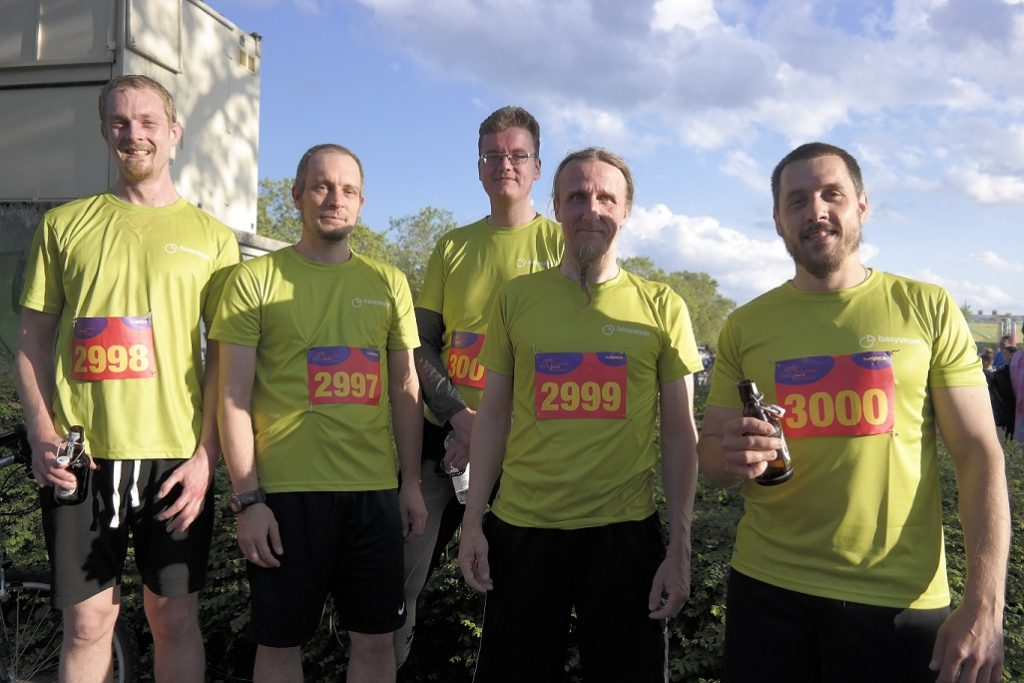 basysKom at Merck-Run 2019 1 basysKom, HMI Dienstleistung, Qt, Cloud, Azure