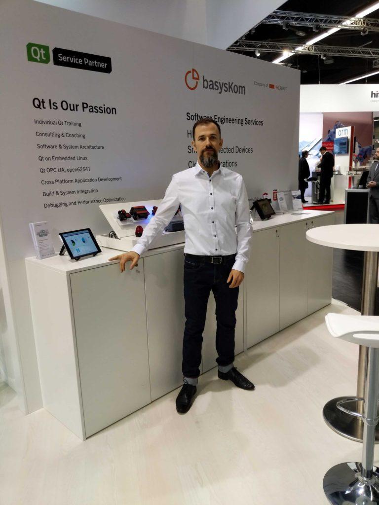 Conferences 3 basysKom, HMI Dienstleistung, Qt, Cloud, Azure