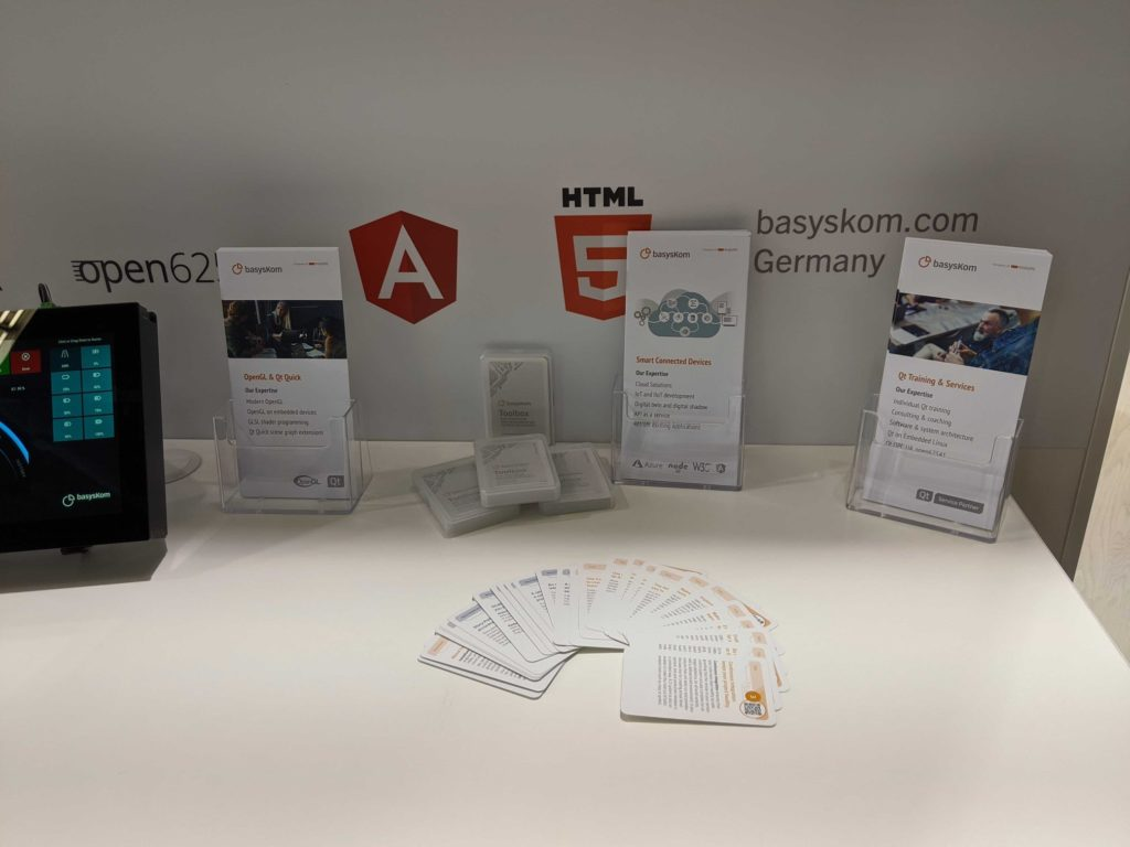 Konferenzen 4 basysKom, HMI Dienstleistung, Qt, Cloud, Azure